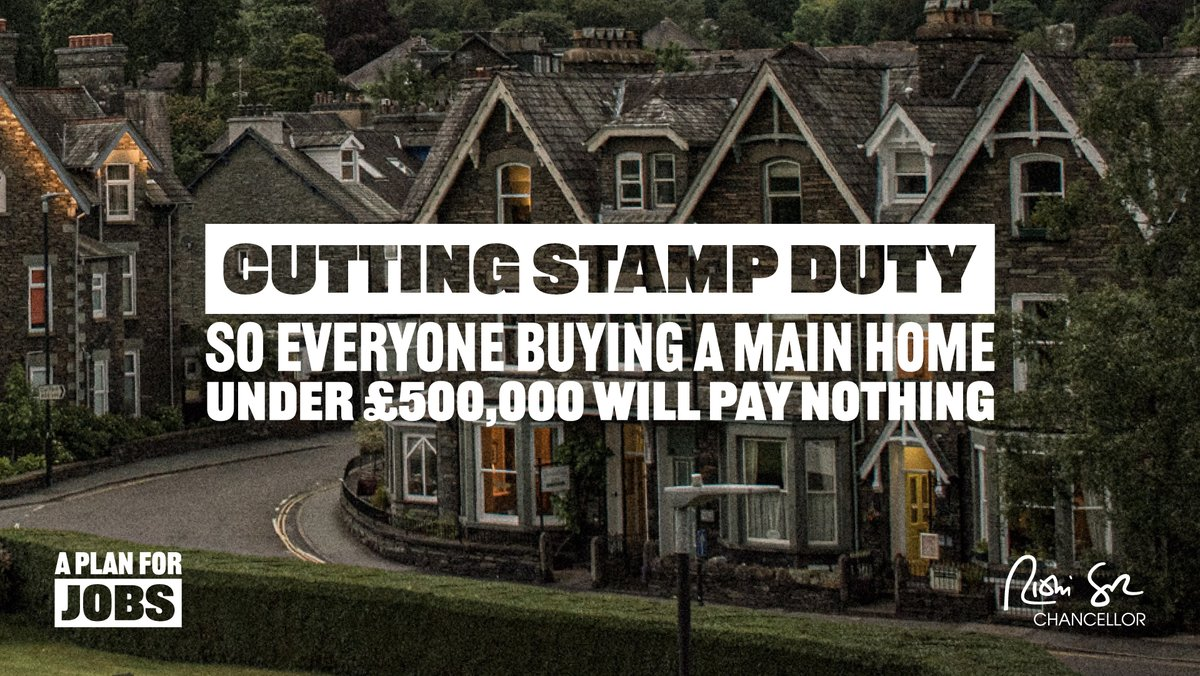 New Stamp Duty cuts