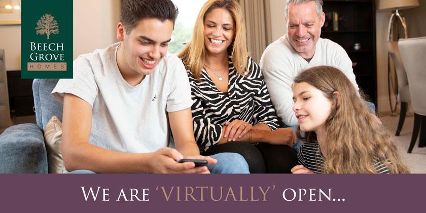 Beech Grove Homes are 'virtually' open