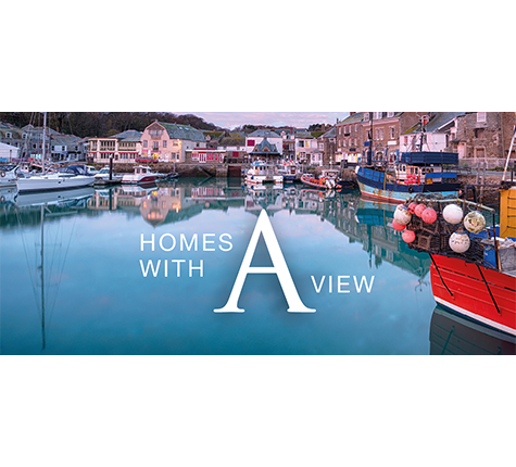 Homes With A View - New-Build Shared Ownership Houses For Sale At Hawkers Reach in Padstow.
