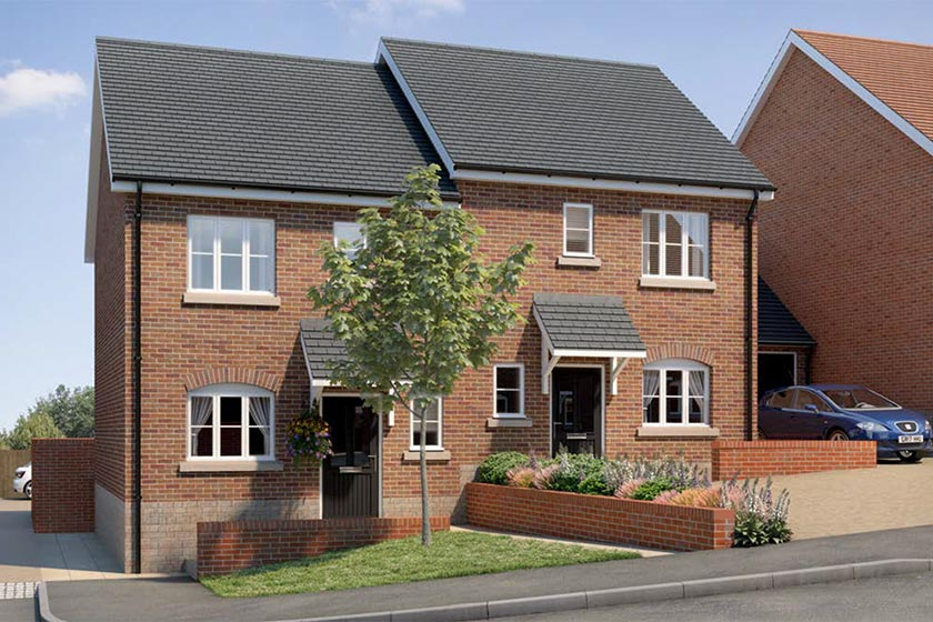 Newlands housing development - new 2 bed home (Type: The Hampton)