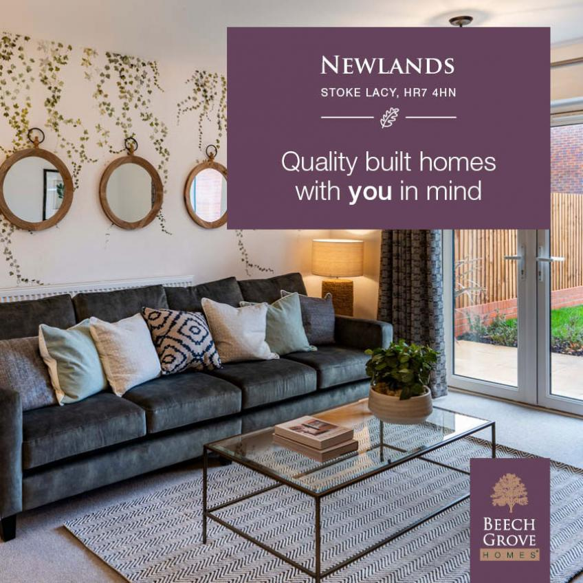 Quality homes built with you in mind