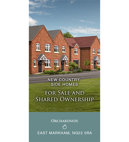 New Countryside Homes For Sale And Shared Ownership At Orchardside in East Markham.
