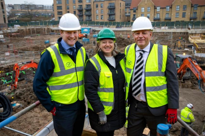 A picture of Beech Grove Homes embarks on major London development