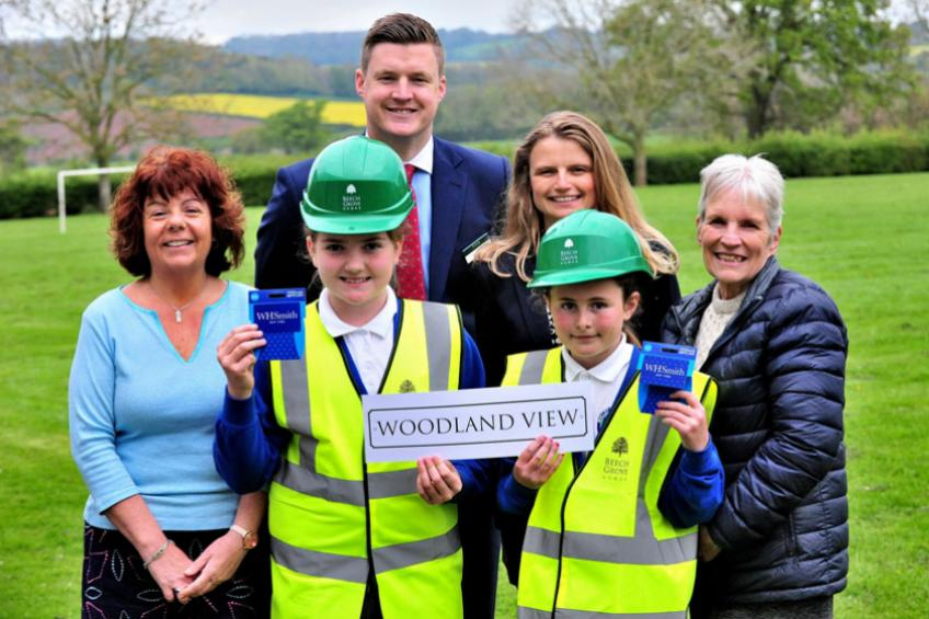 A picture of Inspired schoolchildren name street ahead of development launch