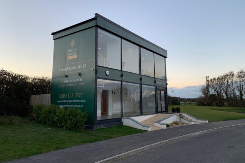 A picture of New Marketing Suite Opens at Hawkers Reach, Padstow