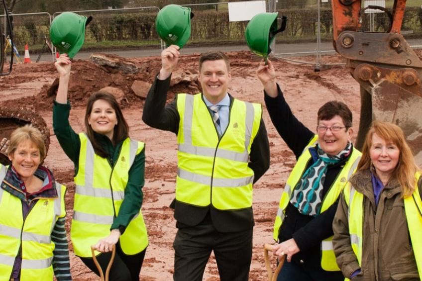 A picture of Beech Grove Homes begins work on £4m Stoke Lacy development