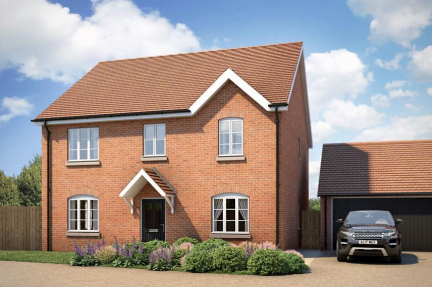 A picture of Show home launches at Herefordshire development