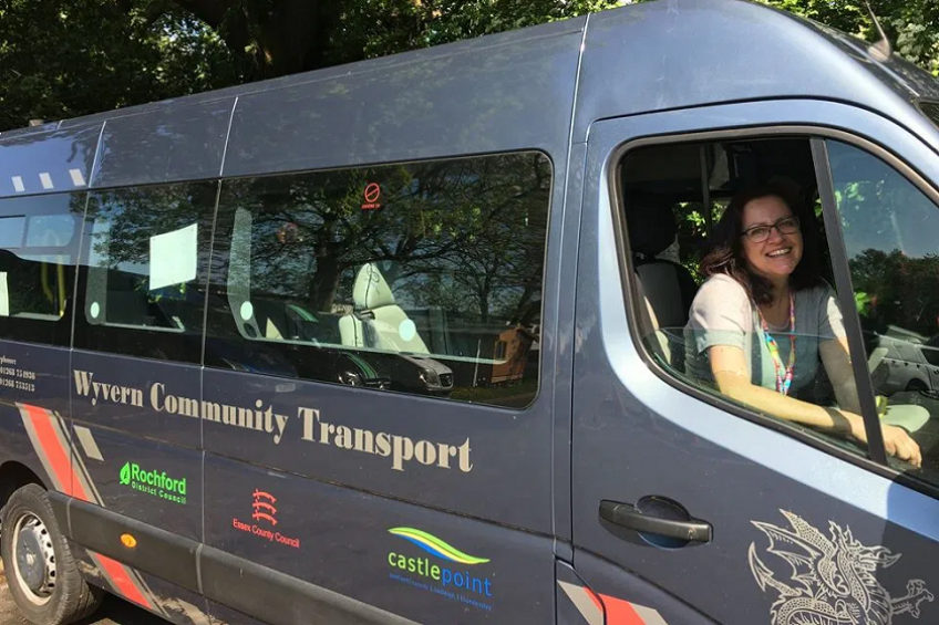 A picture of  Community transport scheme back on the road thanks to MORE!