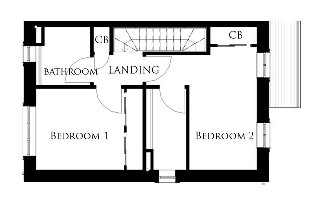 The Peregrine first floor floor-plan