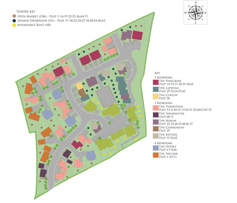 Site plan of our Hawkers Reach development