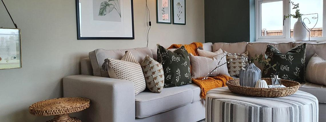 Example interior of the lounge at the Orchardside development