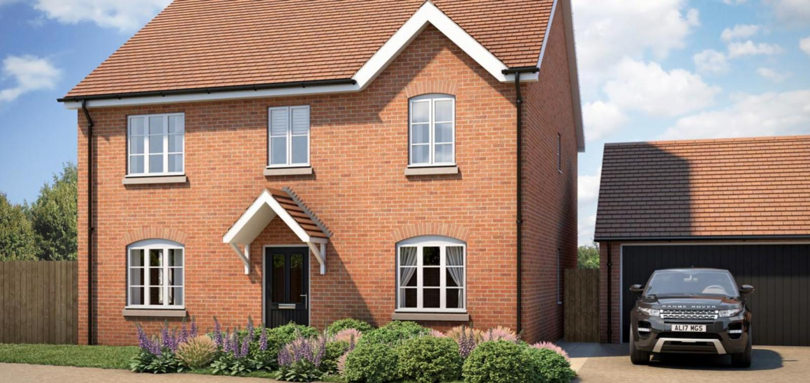 CGI from the Newlands development in Stoke Lacy