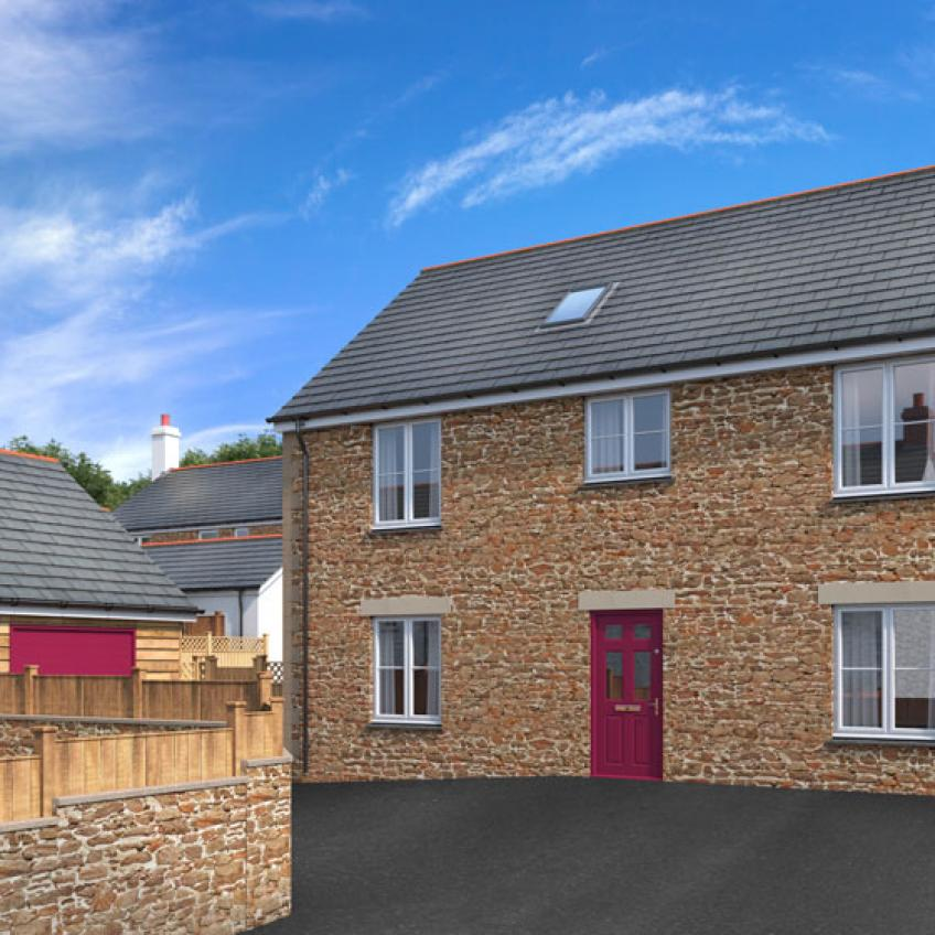 A picture of Plot 13 - 4 Bedroom Detached Home with Garage