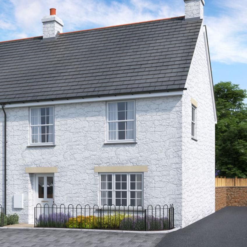 A picture of Plots 14, 15 & 16 - 3 Bedroom Terraced Homes