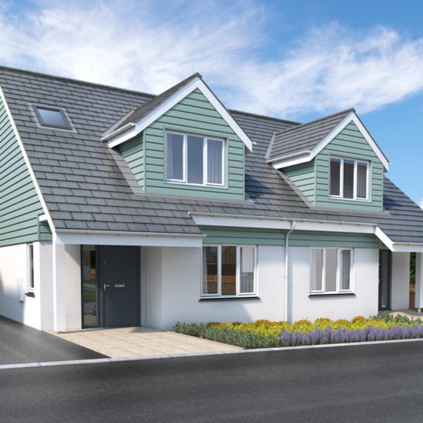 A picture of Plot 9 - 2 Bedroom Dormer Bungalow