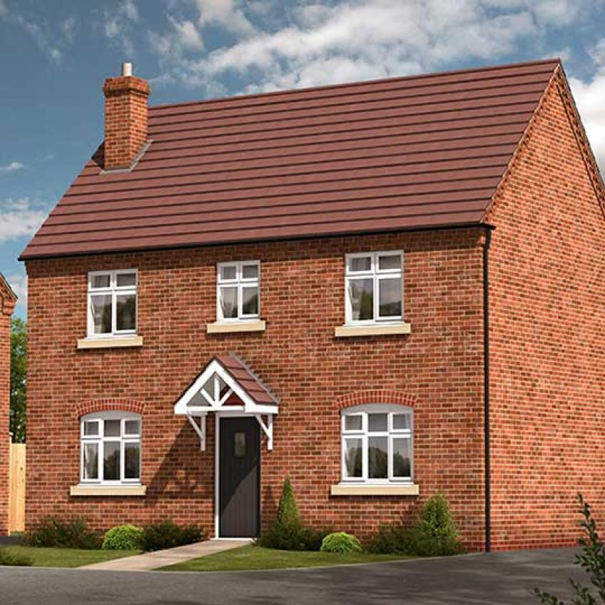A picture of The Cortland - 4-Bed Detached (Outright Purchase)