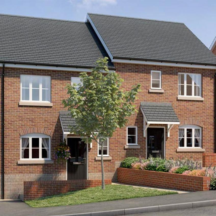 A picture of The Hampton - 2 Bedroom Semi-Detached Homes