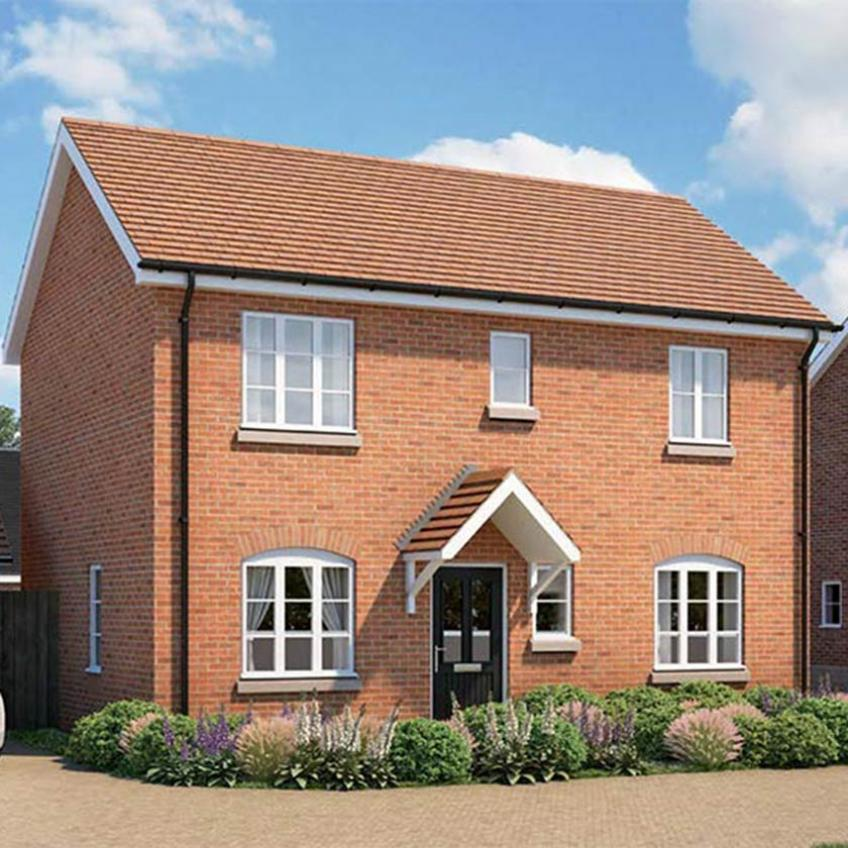 A picture of The Goodrich - 3 Bedroom Detached Homes