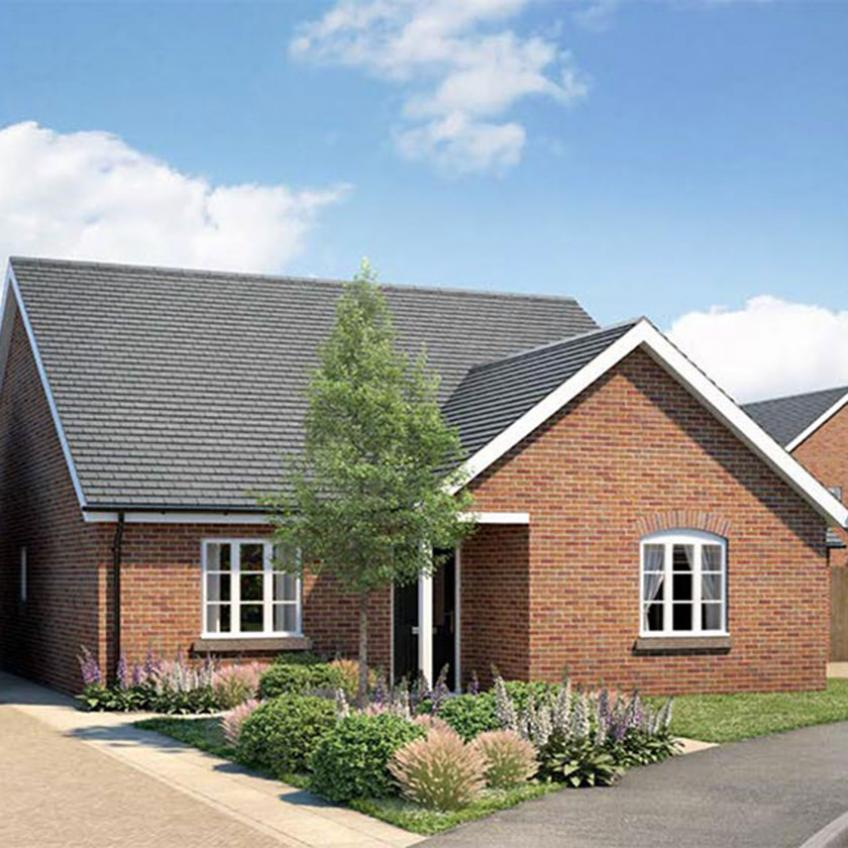 A picture of The Wigmore - 3 Bedroom Detached Bungalows