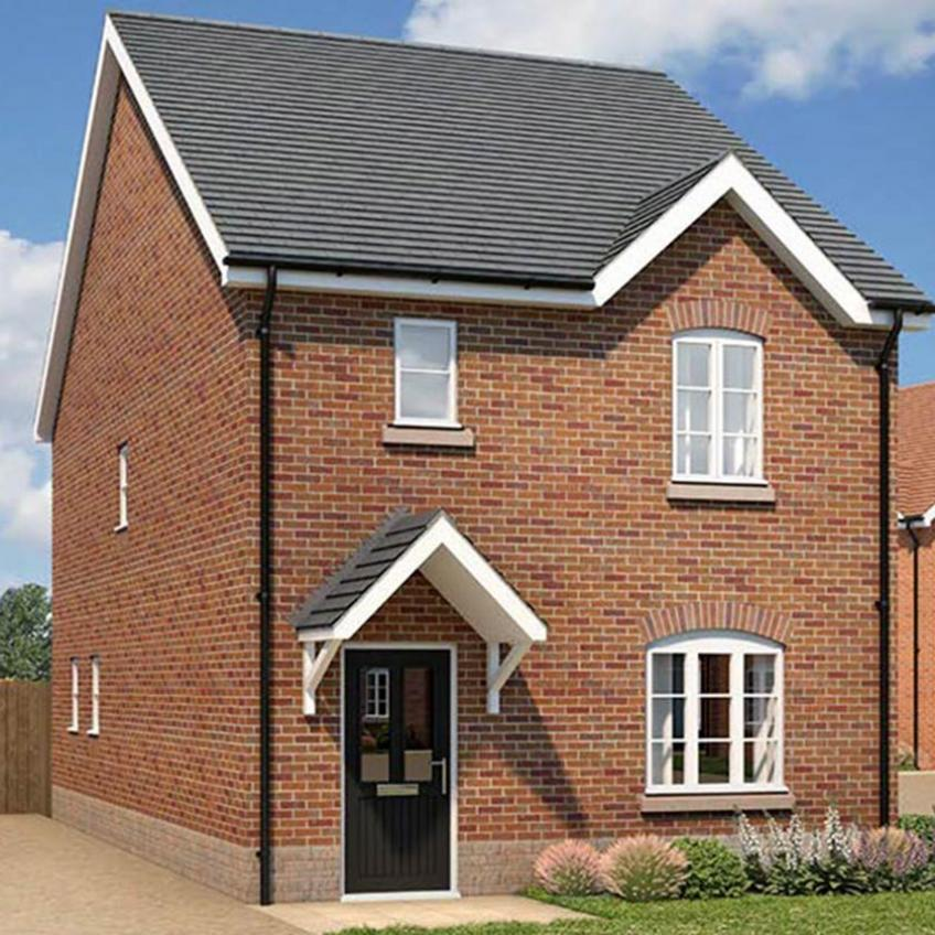 A picture of The Wilton - 3 Bedroom Detached Homes